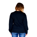 Astronaut Black Crew Neck Women's Back
