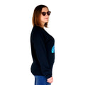Astronaut Black Crew Neck Women's Side
