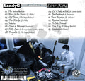 Low Key Back Cover Sandy G Hip Hop Album