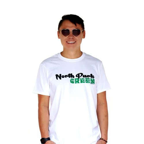 North Park Green Classic White Front Men's