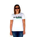 North Park Green Womens Classic White T Front