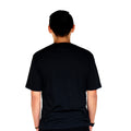 Siren City Men's City Skyline Ultra Soft Black T-Shirt Back