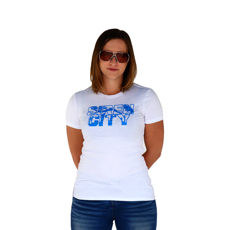 Womens Favourite T White Front