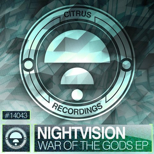 Nightvision War of the Gods Cover DnB EP