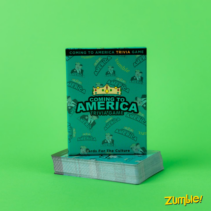 COMING TO AMERICA TRIVIA GAME