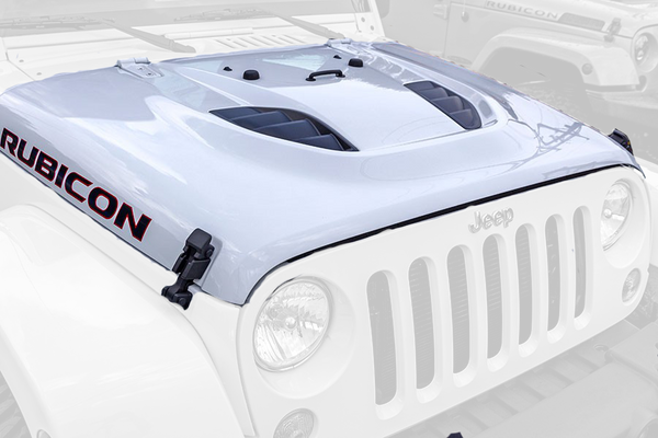 10th Anniversary Rubicon Dome Style Hood - Hard Rock Hood