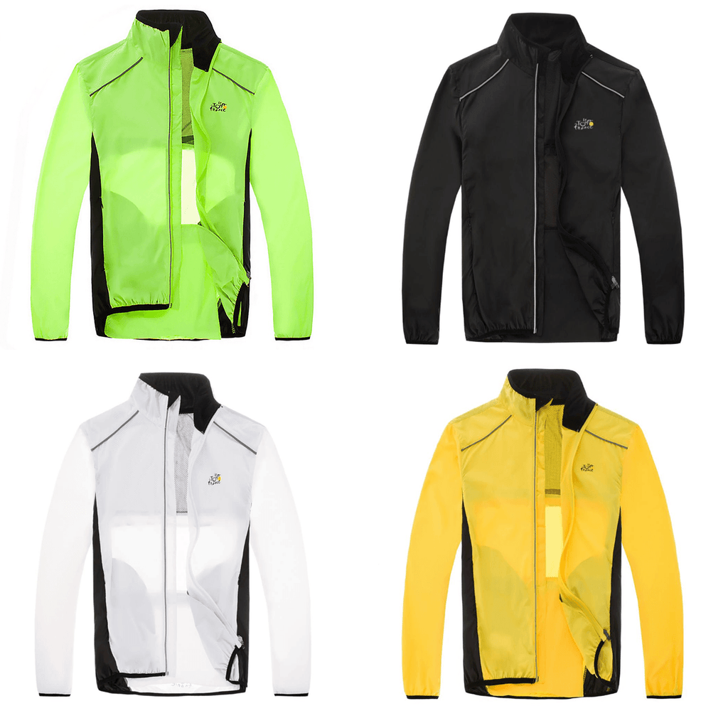 Windproof and waterproof cycling jacket