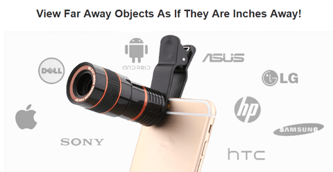 Telelens for Smartphone