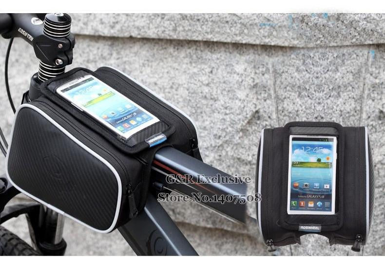 Cycling Saddle Smartphone Backpack
