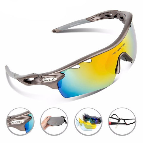 Rivbos Polarized Cycling Glasses