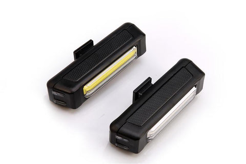 Rechargeable Front/Rear Safety Light Combo Pack