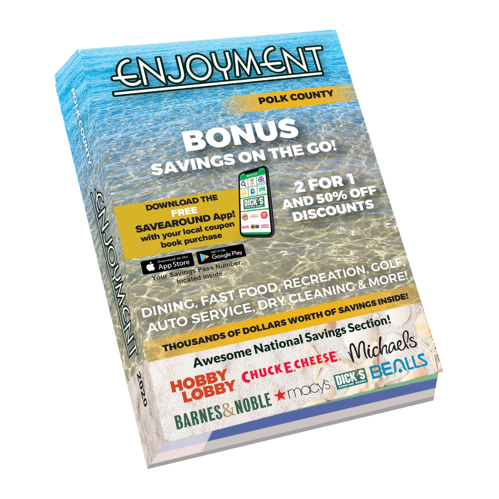2020 Polk County, FL Enjoyment Coupon Book