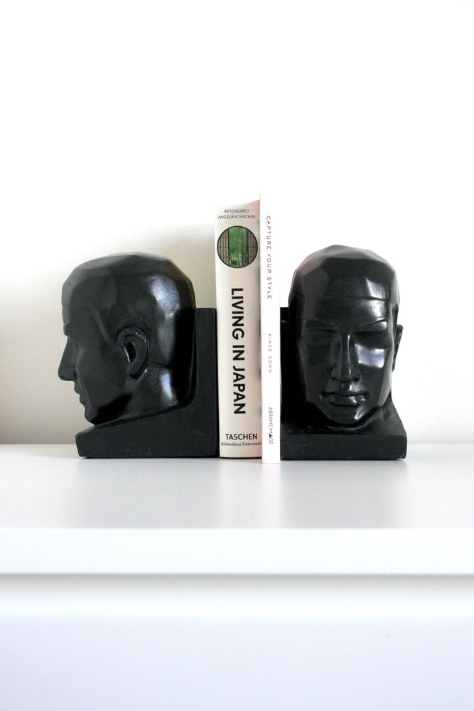 Hand Carved Bookends