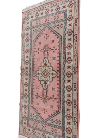 "Load image into Gallery viewer, Turkish Area Rug 2'3.5"" x 6'5"""