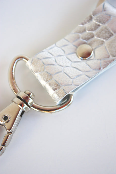 Mini Leather Key Fob