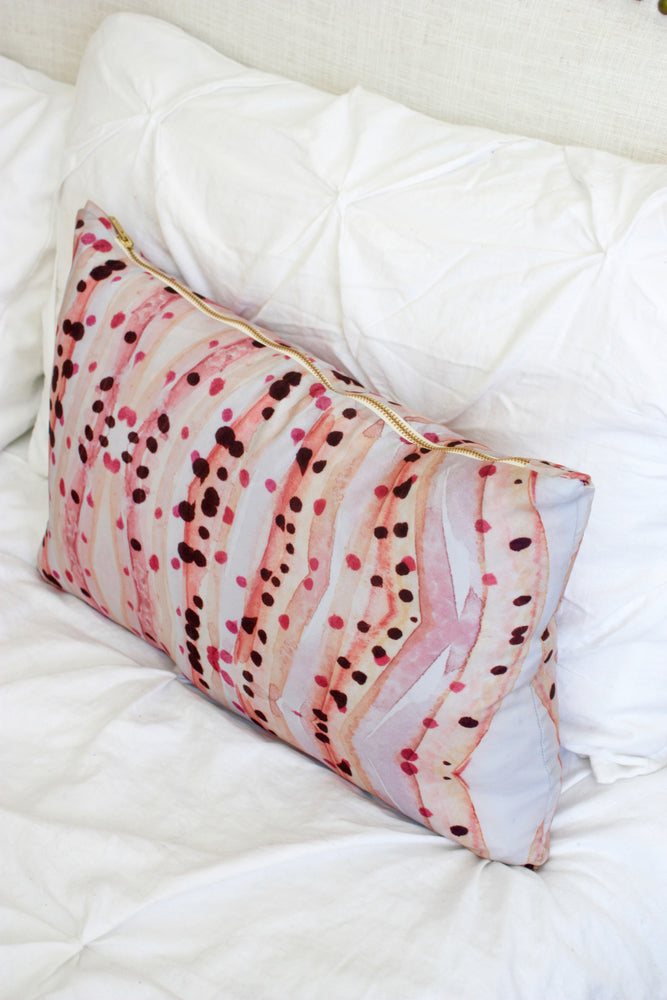 Rose Jade Pillow