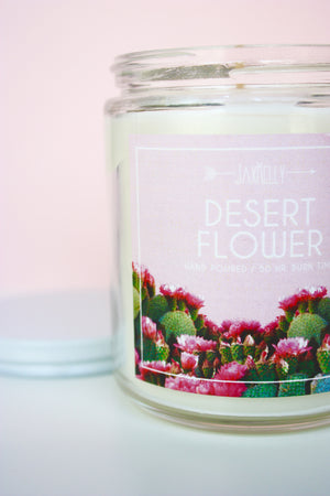 Load image into Gallery viewer, Desert Flower Candle