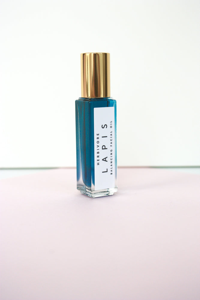 Load image into Gallery viewer, Herbivore Botanicals Lapis Facial Oil Roller