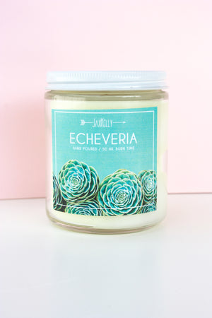 Load image into Gallery viewer, Echeveria Candle