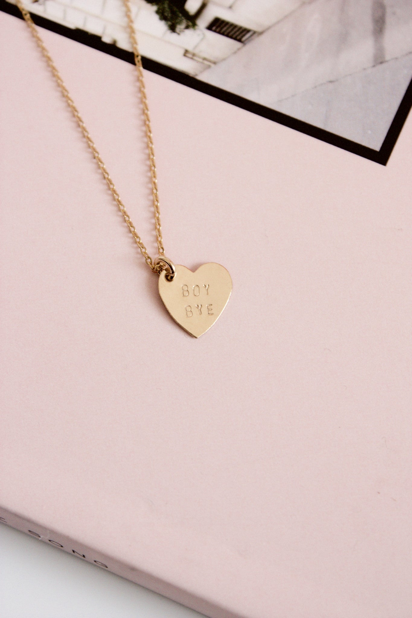 peter ribbon gold necklace yellow mini floating pendant heart and in thomas reed heritage chain roth