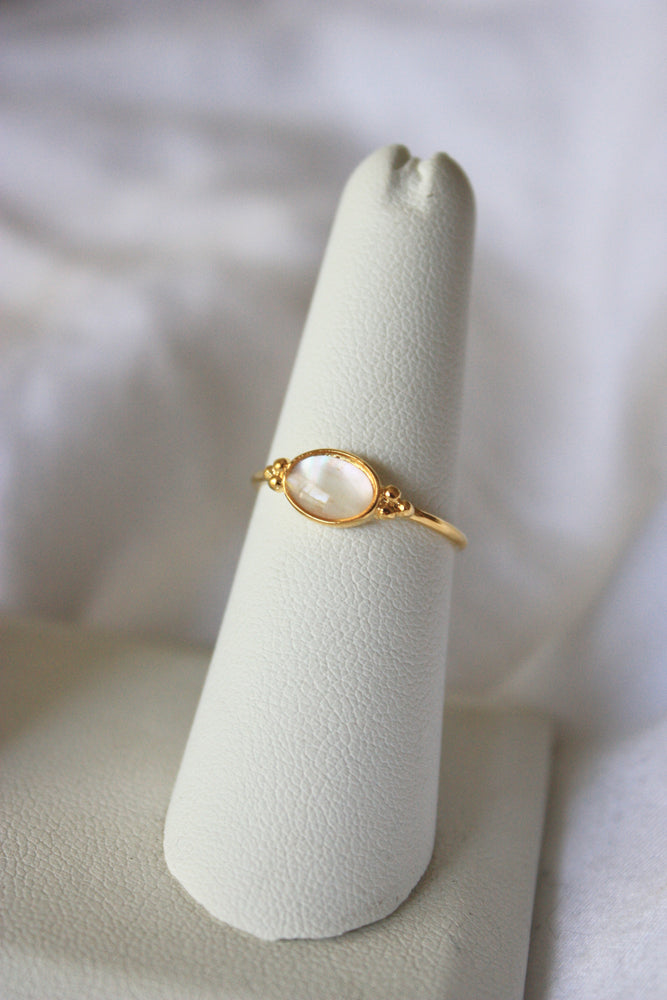 Oval Halston Ring