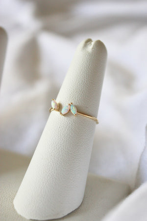Laurel Opal Ring