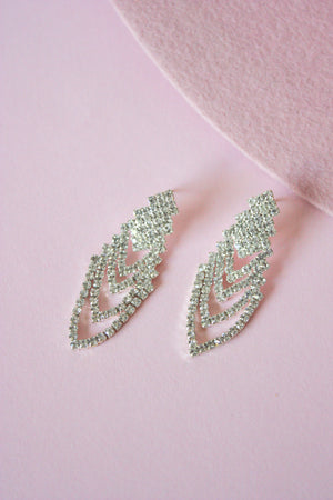 Load image into Gallery viewer, Dianna Rhinestone Earring