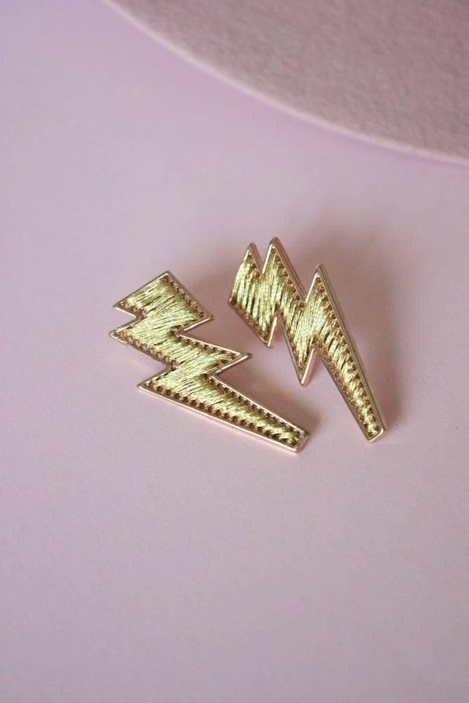 Threaded Bolt Earring