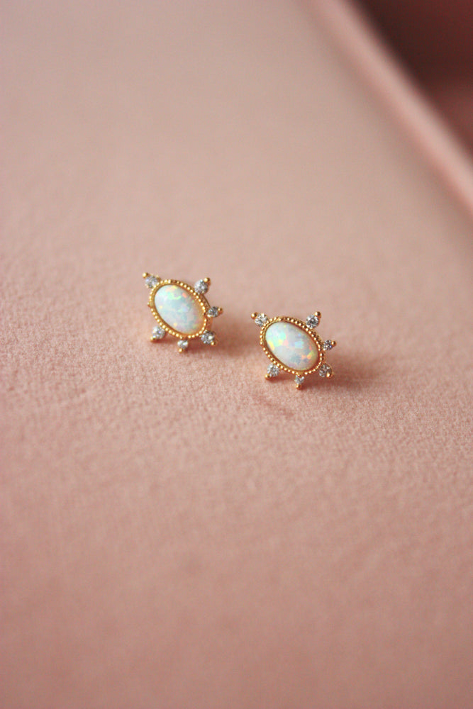 Your Highness Opal Stud Earring