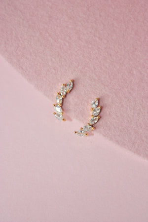 Load image into Gallery viewer, Whitney Ear Climber Earring