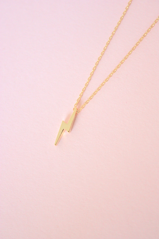Lightning Charm Necklace
