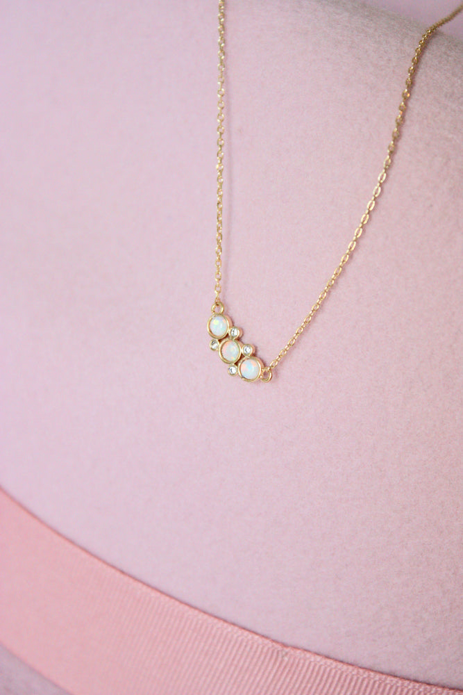 Lily Opal Necklace