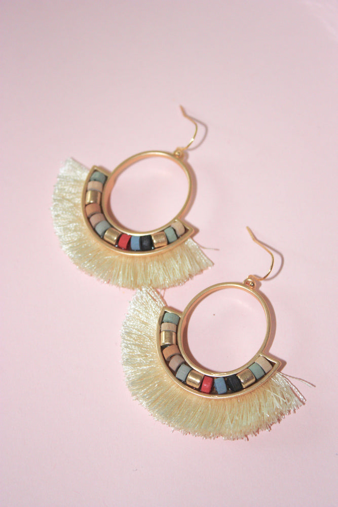 Load image into Gallery viewer, Myers Fringe Earring