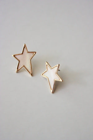 Pearlescent Star Stud