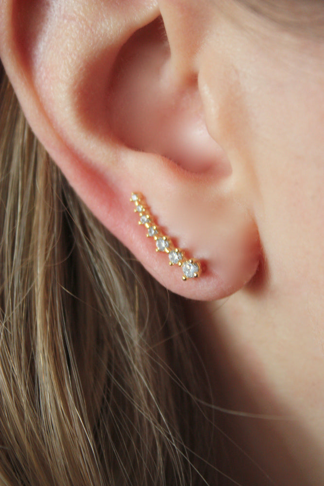 Load image into Gallery viewer, Stella Ear Climber Earring