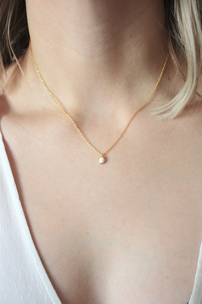 Polly Opal Necklace