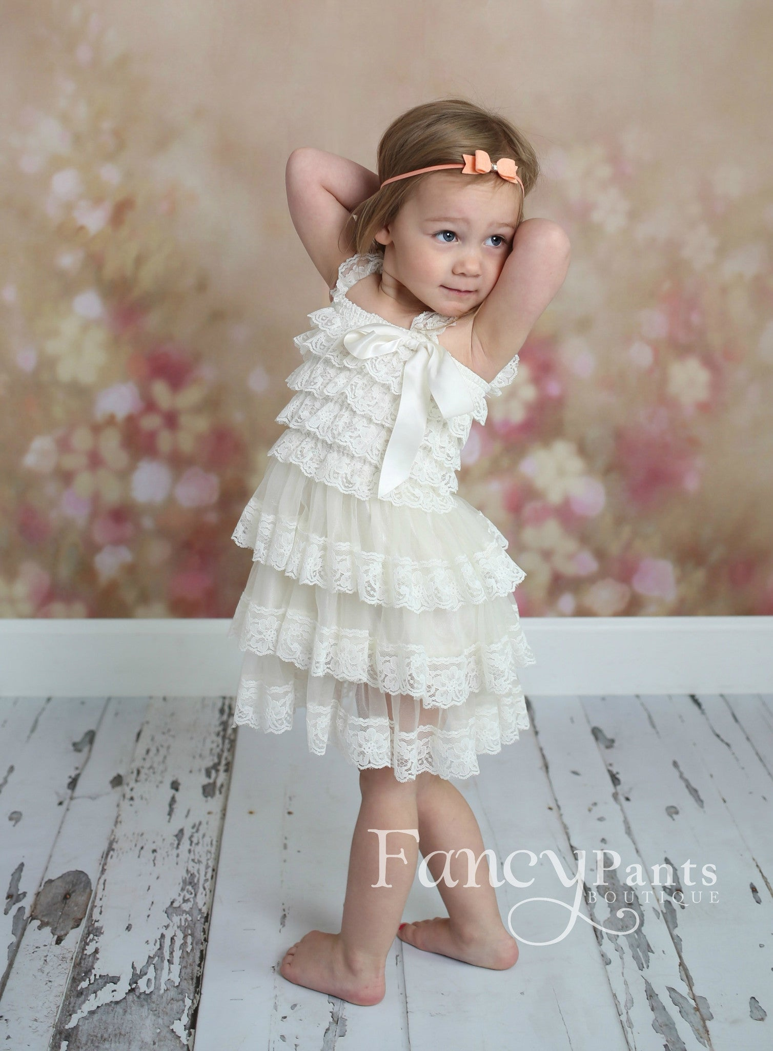 Flower Girl Dress Dresses Ivory Toddler Baby