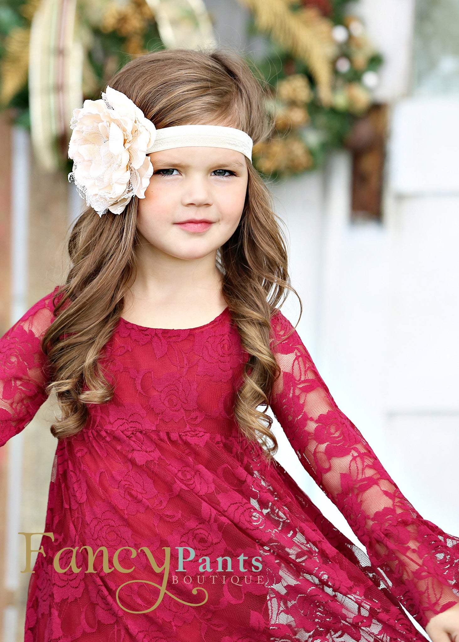 burgundy lace dress girls christmas dress flower girl dress lace flower girl dress - Girl Christmas Dresses