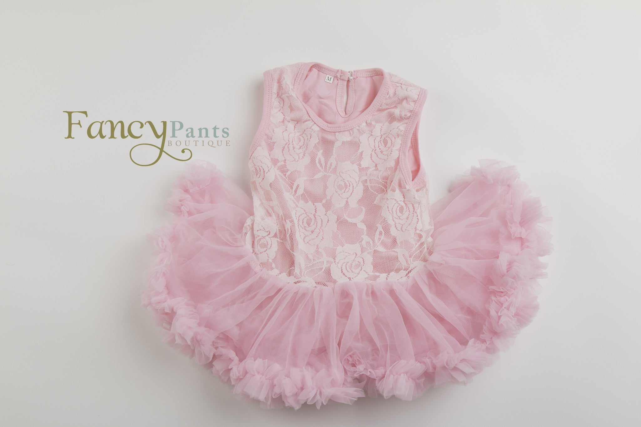 Pink tutu dress for baby