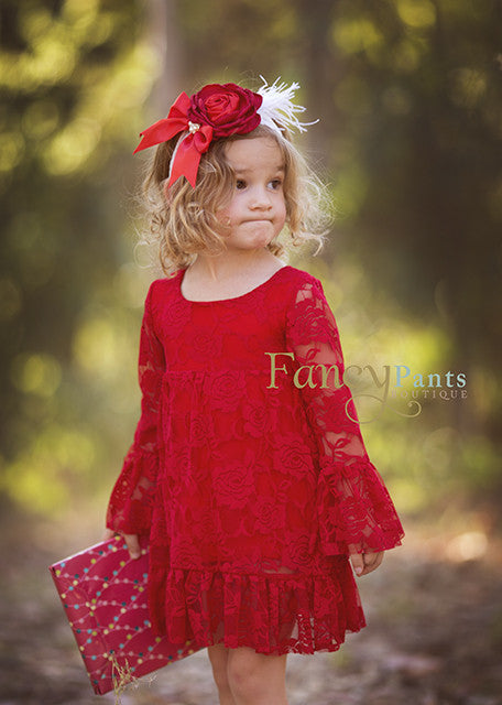 red dress girls girls dresses christmas dress baby christmas dress girls christmas - Girl Christmas Dresses