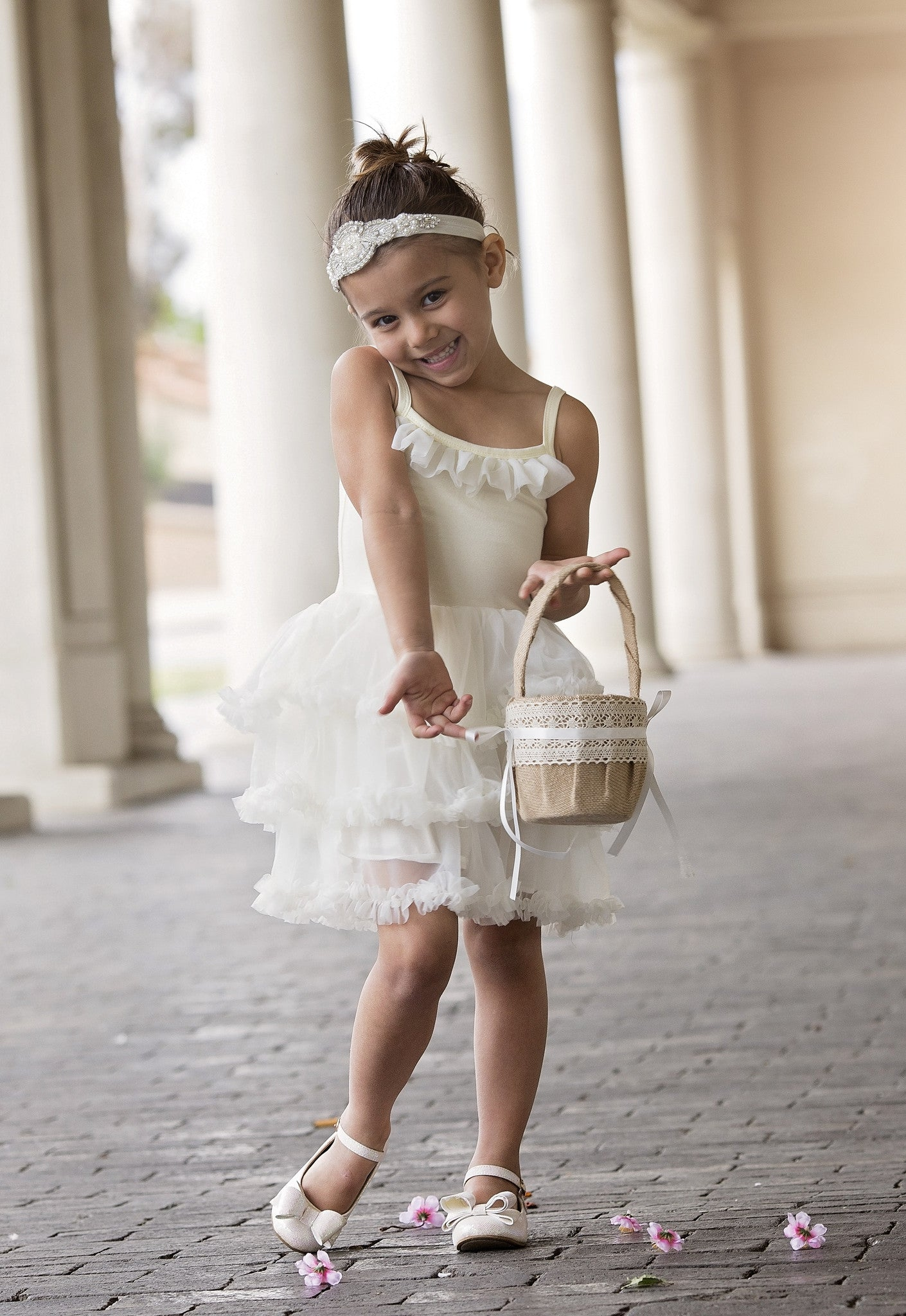 Twirl Tutu Flower Girl Dress Fancy Pants