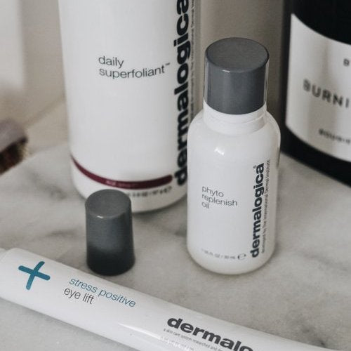 Our (not so) Secret Weapon for Dewy Skin? Dermalogica Phyto Replenish Oil!