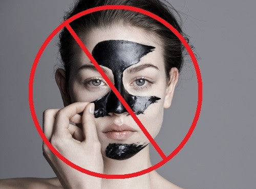 Say NO to those black face masks (You'll thank use later)