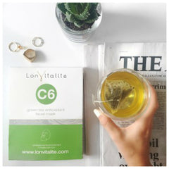 Lonvitalite Green Tea Mask