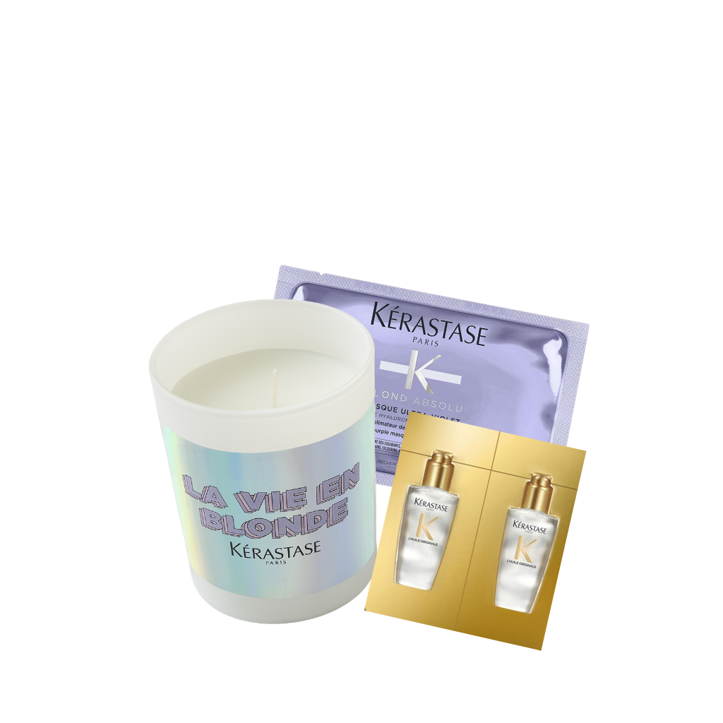 Kerastase Blond Absolu Candle Gift Set
