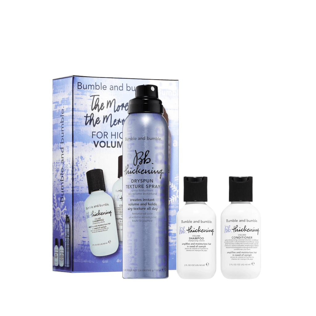 Bumble and bumble. The More, The Merrier: Volume Holiday Pack