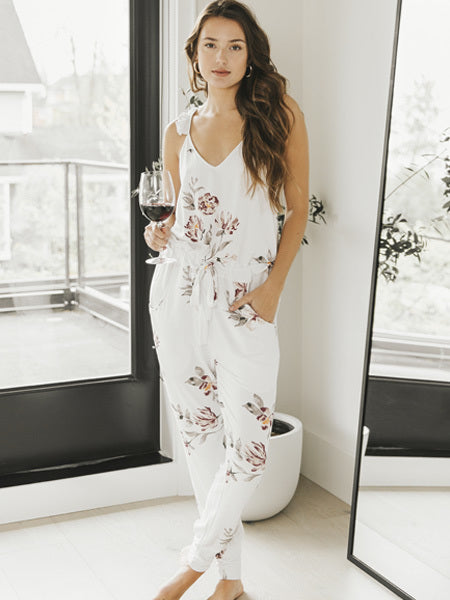Sleep by PRIV - Belle Ruffle Jumpsuit
