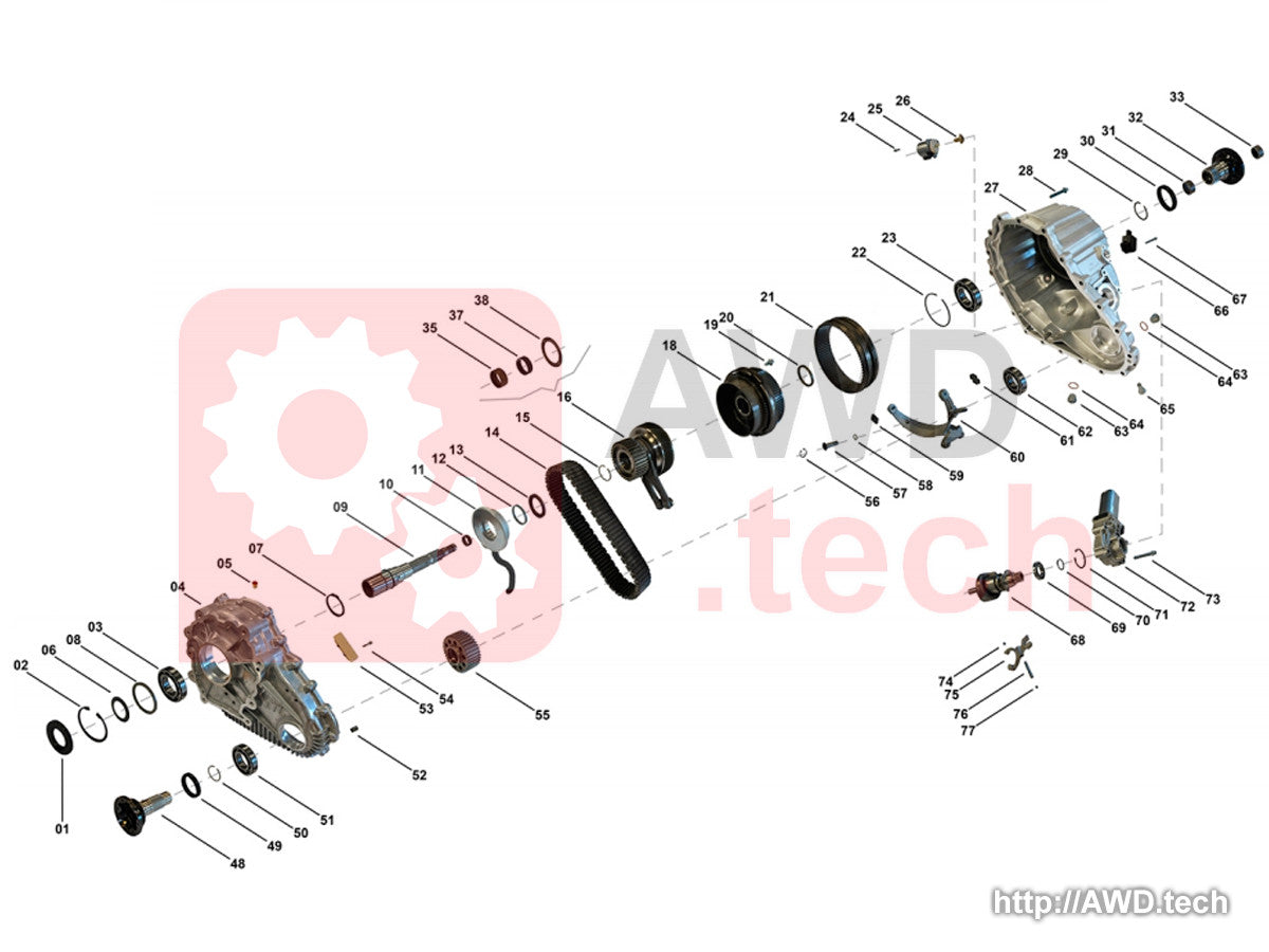 DCD Transfer Case Catalog - Parts Catalog