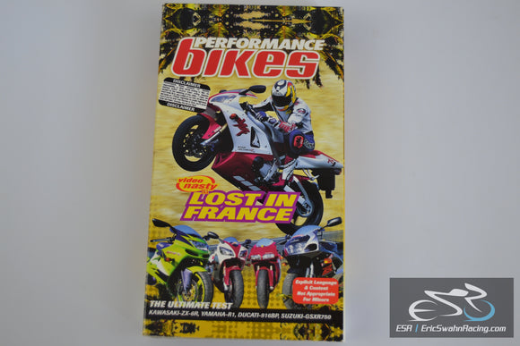Vintage Performance Bikes Lost In France VHS Tape 1998