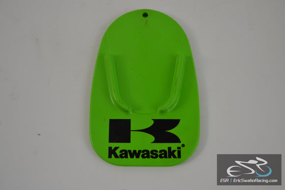 Green Kawasaki Kickstand Protector / Display